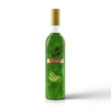 Зелений банан з глітером  700мл